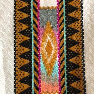 H&M Jackets & Coats - H&M Aztec /boho knitted blazer sz M colorful